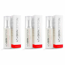 3 Skinception Rosacea Relief #1 Rapid Remedy Treatment for Facial Redness & Pain