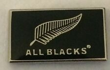ALL BLACKS  METAL PIN BADGE  BUY 2 WE SEND THREE