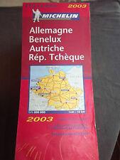 Carte michelin 719 allemagne, benelux autriche rep. tcheque 2003