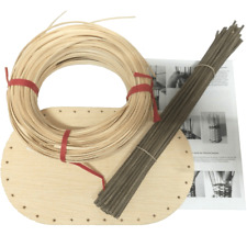 Korbflechtset - Flechtset mit Sperrholzboden, Peddigschiene, Staken & Anleitung