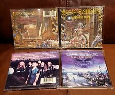 Iron Maiden Somewhere In Time CD UK CDP 7463412 VERY RARE Brave New World Set