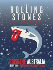 Rolling Stones # 15 - 8 x 10 T-shirt iron-on transfer Brisbane concert poster