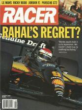 RACER MAGAZINE 1995 AUG - RAHAL, PORSCHE GT2, RUDD, LeMANS, SHELBY REUNION