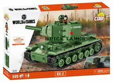 KV-2 ('World of Tanks') - COBI 3039 - 595 brick heavy tank