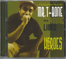 MR. T-BONE AND THE YOUNG LIONS - HEROES - MINT CD
