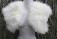 Ivory/Bridal White Marabou Feather Bolero/Jacket