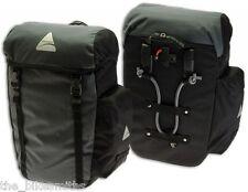 AXIOM SEYMOUR DLX 20 Bike Panniers Pair Rear Commuter Bags Touring Saddlebag