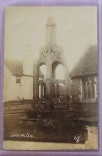 RP Postcard c.1910 OLD CROSS IRON ACTON GLOUCESTERSHIRE