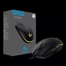Logitech G102 LIGHTSYNC Wired Gaming Mouse 8000DPI 6 Button 2Gen RGB Streamer US