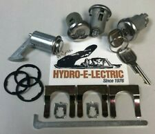 1970-1972 Chevelle/Malibu  Door & Trunk Lock set + keyless push-button Console
