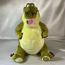 """Louis Alligator Plush Disney Store Exclusive 13"""" Princess and the Frog"""