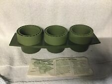 New Tupperware Tuppercraft Trio Planter Flower Pots