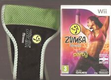 ZUMBA FITNESS JOIN THE PARTY + Ceinture : INDISPENSABLE Sur Wii/WiiU