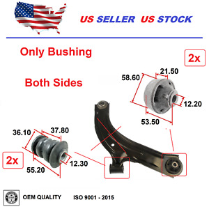 4 Front Control Arm Bushing For Nissan Tiida 2007-2018 Versa 2007-2012 OEQuality