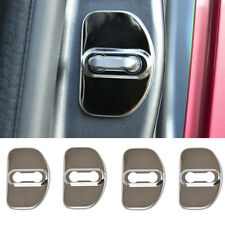 D Shape Car Door Lock Cover Trim Protector For Audi A3 A6 C5 C6 A4 B6 B7 B8 S4