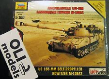 1/100 US 155mm Self-Propelled M109A2 Howitzer -  HOT WAR - Zvezda 7422