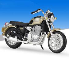 1:18 Maisto TRIUMPH THUNDERBIRD Motorcycle Bike Model New In Box Gold Black