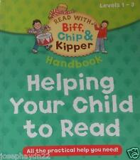 NEW  LEVEL 1-3 HELPING YOUR CHILD TO READ - OXFORD READING TREE handbook BIFF