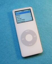 Refurbished Apple iPod nano 1st Gen.(A1137) White (1 gb Battery upgraded
