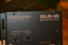 Audio Control Bld-10 Four Channel Balanced Line Driver - Euc