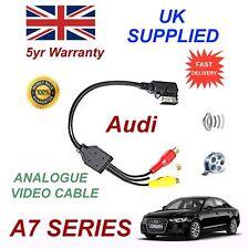 Per AUDI A7 SERIE 2011+ AMI MMI 4F0051510N Fono RCA Cavo Audio Video