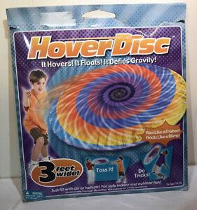Hover Disc Vertigo Flying Floating Disc Indoor Outdoor 3 ft Wide Kids Hover Disc