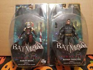 DC Direct Arkham City Series 1 HARLEY QUINN Batman Infected