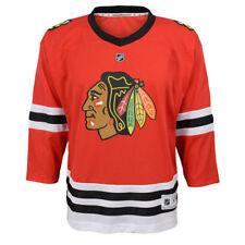Infant 12-24 Months Chicago Blackhawks Home Premier Crest Red Hockey Jersey