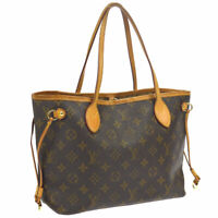 LOUIS VUITTON NEVERFULL PM HAND TOTE BAG PURSE MONOGRAM M40155 VI2059 AK38362e