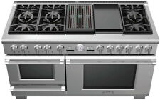 """Thermador Pro Grand Series Prd606Rcsg 60"""" Stainless Steel Dual Fuel Range"""