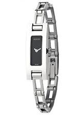 Gucci 3900L Series Silver Tone Band Diamond Women's Ladies Watch S M L