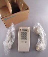 Wall Phone - Touch-Tone, Ivory - circa 1970's ~~ Western Electric telephone