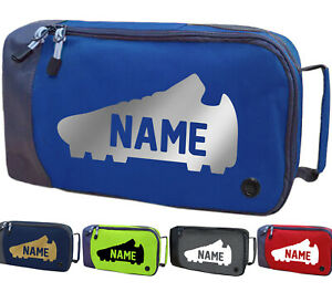Personalised Childrens Boot Bag Football Rugby Boys Girls Sports Kit