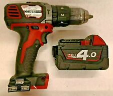Milwaukee M18 BPD 18V Cordless Hammer Drill with 4.0Ah Battery