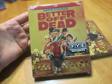 Better Off Dead (1985) - Blu-Ray Steelbook - New & Sealed - John Cusack New Fye