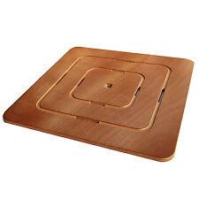 Pedana doccia cm 60 X 60 X 2h in legno marino quadrata antiscivolo piatto doccia