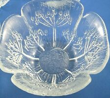Vintage DANSK Italy FLORIFORM (1) ART GLASS Small Dessert Bowl Collectable Aus