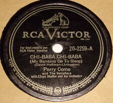 RCA Victor 20-2259 Perry Como Chi-Baba Chi-Baba / When You Were Sweet Sixteen E-