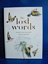 The Lost Words By Robert Macfarlane (Hardback) New