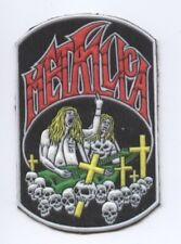 Metallica synthetic 3D patch early 80's RARE