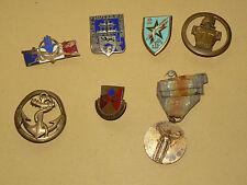 Lot 7 Insigne et Médaille Militaire Militaria & Divers  Broche 14/18  39/45