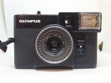 Olympus Pen EF 35mm half frame camera 28mm f2.8 lens - TESTED WORKING
