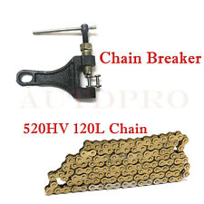 520 CHAIN 120 LINKS O-Ring Drive Chain + Chain Breaker 520 Pitch 120 Links
