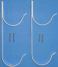 SWIMMING POOL SPA VACUUME HOSE POLE HANGER BRACKET X 2