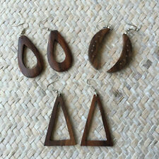 Wooden Religious Drop/Dangle Fashion Earrings