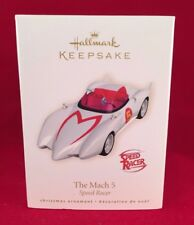 The Mach 5 Speed Racer 2008 Hallmark Ornament Race Car  Anime  Grand Prix Racing