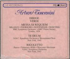 Verdi: Requiem, Te Deum / Toscanini, BBC, Milanov, Roswange, Moscona - CD
