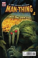 MAN-THING #1 (OF 5) R.L. Stine Marvel Comics Tyler Crook Cover