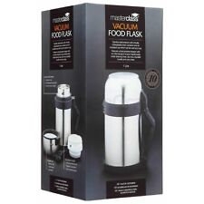Master Class 1.0 litre Vacuum Food Flask Stainless Steel