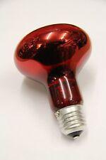 IR ROSSO R80 100W 230V E27 infrarossi Lampada Calore Calore Faretto TERAPIA